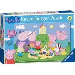 Ravensburger 08632. Diversión al Sol. Puzzle 35 pcs. +3 años
