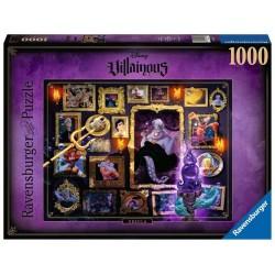 Ravensburger 15027_ Disney Villainous. URsula. Puzzle 1000 piezas
