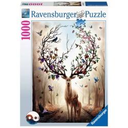 Ravensburger 15018_ Ciervo Mágico. Puzzle 1000 piezas.