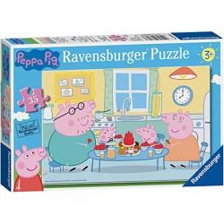 Ravensburger 08628_ Tiempo Familiar. Puzzle 35 pcs. +3 años