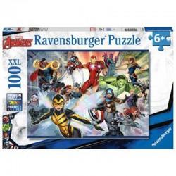Ravensburger 13261_ Avengers. Puzzle 100 piezas XXL