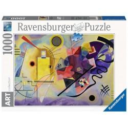 Ravensburger Art 14848_  Kandinsky. Amarillo, Rojo, Azul. Puzzle 1000 piezas.