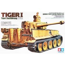 Tamiya_ German Tiger I Initial Production Afrika_ 1/35