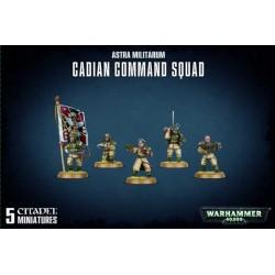 Cadian Command Squad Astra Militarum caja