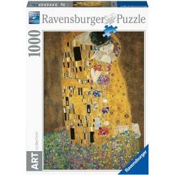 Ravensburger Art_ El Beso. Klint.Puzzle 1000 Piezas.