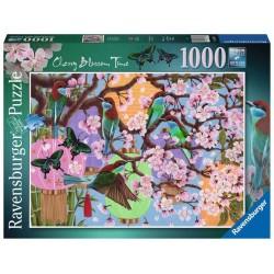 Ravensburger_Flores de Cerezo. Puzzle 1000pcs.