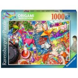 Ravensburger_ Origami Meditations. Puzzle 1000pcs.