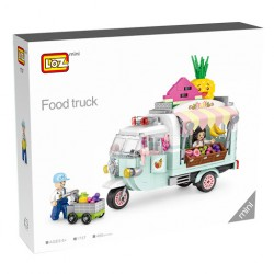 Loz mini_ Fruit Food Truck (480 piezas)