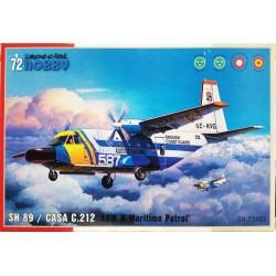 "Special Hobby_ SH-89 - Casa C-212 ""ASW & Maritime Patrol_ 1/72"
