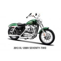 Maisto_ Harley Davidson 2013XL 1200V Seventy two_ 1/12