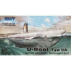 Special Hobby U-Boot Typ IIA_ 1/72 caja