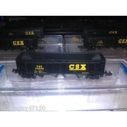 Bachmann_ Vagón de Tolvas de Carbón CSX, Escala N