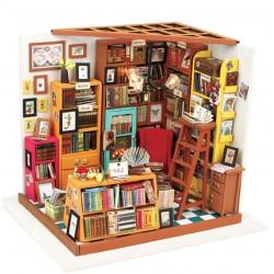 Diy Miniature House_ El estudio de Sam 1/24