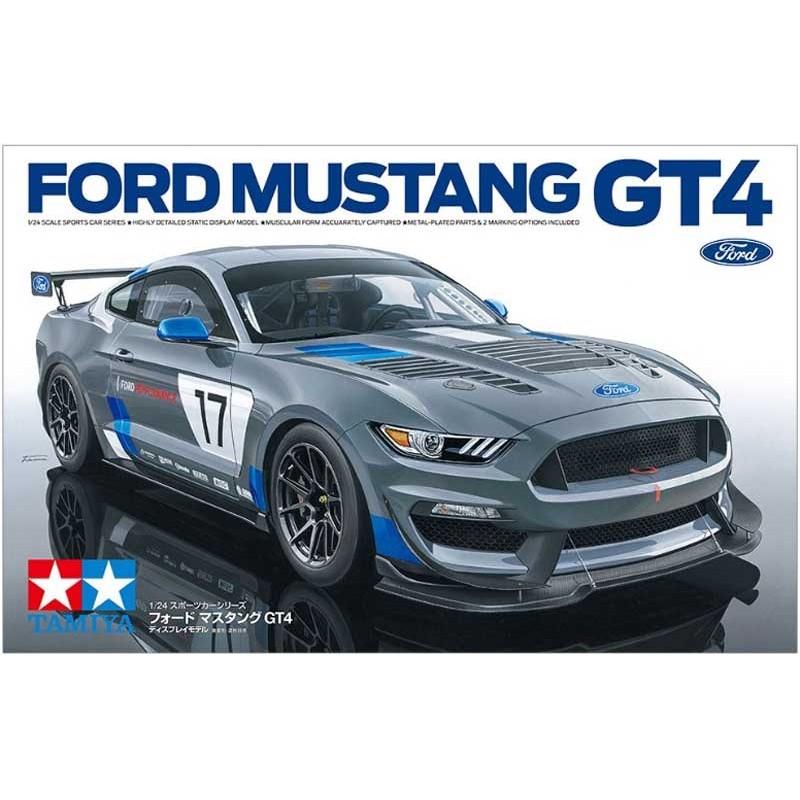 Tamiya_ Ford Mustang GT4_ 1/24 caja