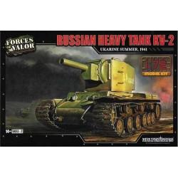 Force of Valor_ Russian Heavy Tank KV-2_ 1/72 caja