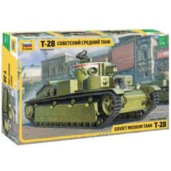 Zvezda_ T-28 Soviet Medium Tank_ 1/35
