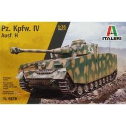 Italeri_ Pz. Kpfw. IV Ausf.H (Con calcas españolas)_ 1/35 caja