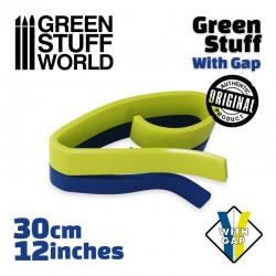 Masilla Verde Green Stuff con Hueco 30 cm.