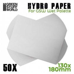 Hidro Papel para Paleta Húmeda (x50uds.)