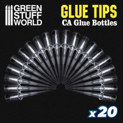 Glue Tips. Puntas de Precisión para botes Pegamento producto