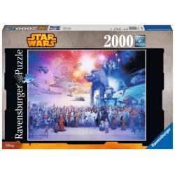 Ravensburger_  Star Wars. Puzzle 2000 piezas.