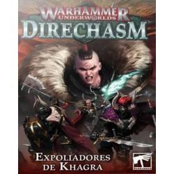 Warhammer Underworlds Direchasm. Expoliadores de Khagra caja