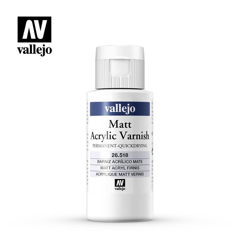 Vallejo_ Barniz Mate 60 ml.