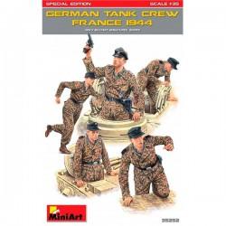 MiniArt_ German Tank Crew France 1944_ 1/35 caja