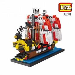 Loz 1211 Mocmini_ The Black Sea Barracuda (653 piezas)
