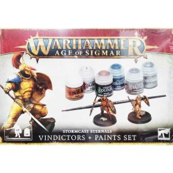 Warhammer Age of Sigmar. Vindictors + Paints Set - caja