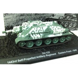 Die cast_  SU-122 1443 rd Self-Propelled Artillery Regiment Eastern Front-1945