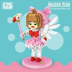 Loz Iblock Fun_ Chica Diamante (760 piezas)