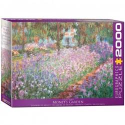 Eurographics_ El Jardín de Monet. Puzzle 2000 piezas