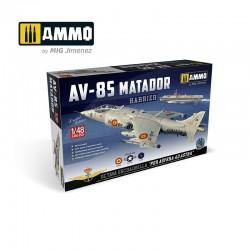 Ammo Mig_ AV-8S Matador (con calcas españolas)_ 1/48 - caja