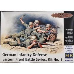 German Infantry Defense. Eastern Front Battle Series, Kit Nº1 1/35