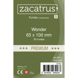 Fundas De Cartas Wonder Premium 65 x 100 mm. 55 Uds.