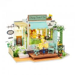 Diy Miniature House_ Flowery Sweets & Teas