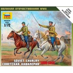 Zvezda_ Soviet Cavalry 1935-1942_ 1/72
