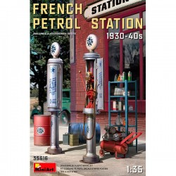 MiniArt_ French Petrol Station 1930-40s_ 1/35