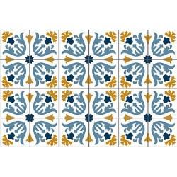 wm_ Mosaico Victoriano floor Azul/amarillo
