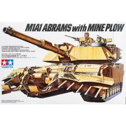 Tamiya_ M1A1 Abrams with Mine Plow_ 1/35