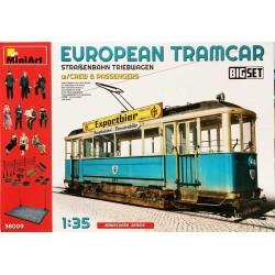 MiniArt_ European Tramcar with Crew and Passengers_ 1/35 caja