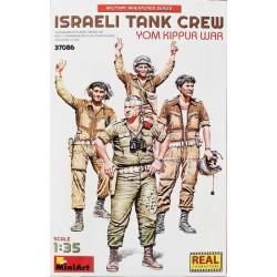 MiniArt_ Israeli Tank Crew. Yom Kippur War _ 1/35 - caja frontal