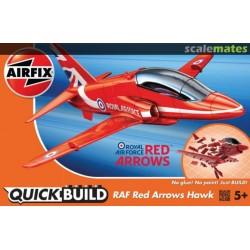 AIRFIX j6018 RAF Red Arrows Hawk - Quick Build
