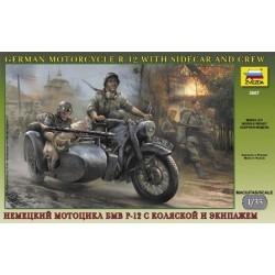 ZVEZDA_ GERMAN WWII SIDECAR...