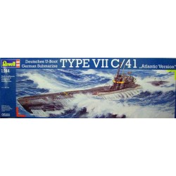 REVELL_ U-BOOT TYPE VII C/41 ATLANTIC VERSION_ 1/144