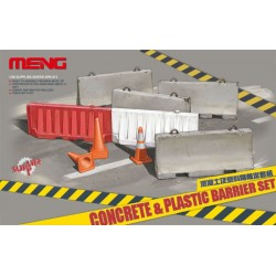 MENG_ CONCRETE & PLASTIC BARRIER SET_ 1/35