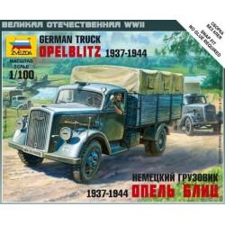 ZVEZDA_OPEL BLITZ, GERMAN TRUCK_1/100
