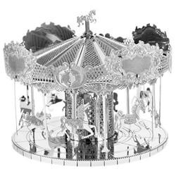 3D METAL MODEL_MERRY-GO-ROUND_TIOVIVO