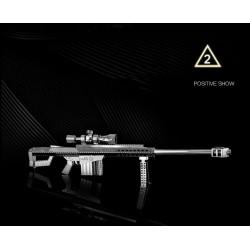 3D METAL MODEL_M82A1 SCOPED RIFLE_1/10